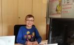 Julian besucht die 5. Klasse der Wernher-von-Braun-Schule
